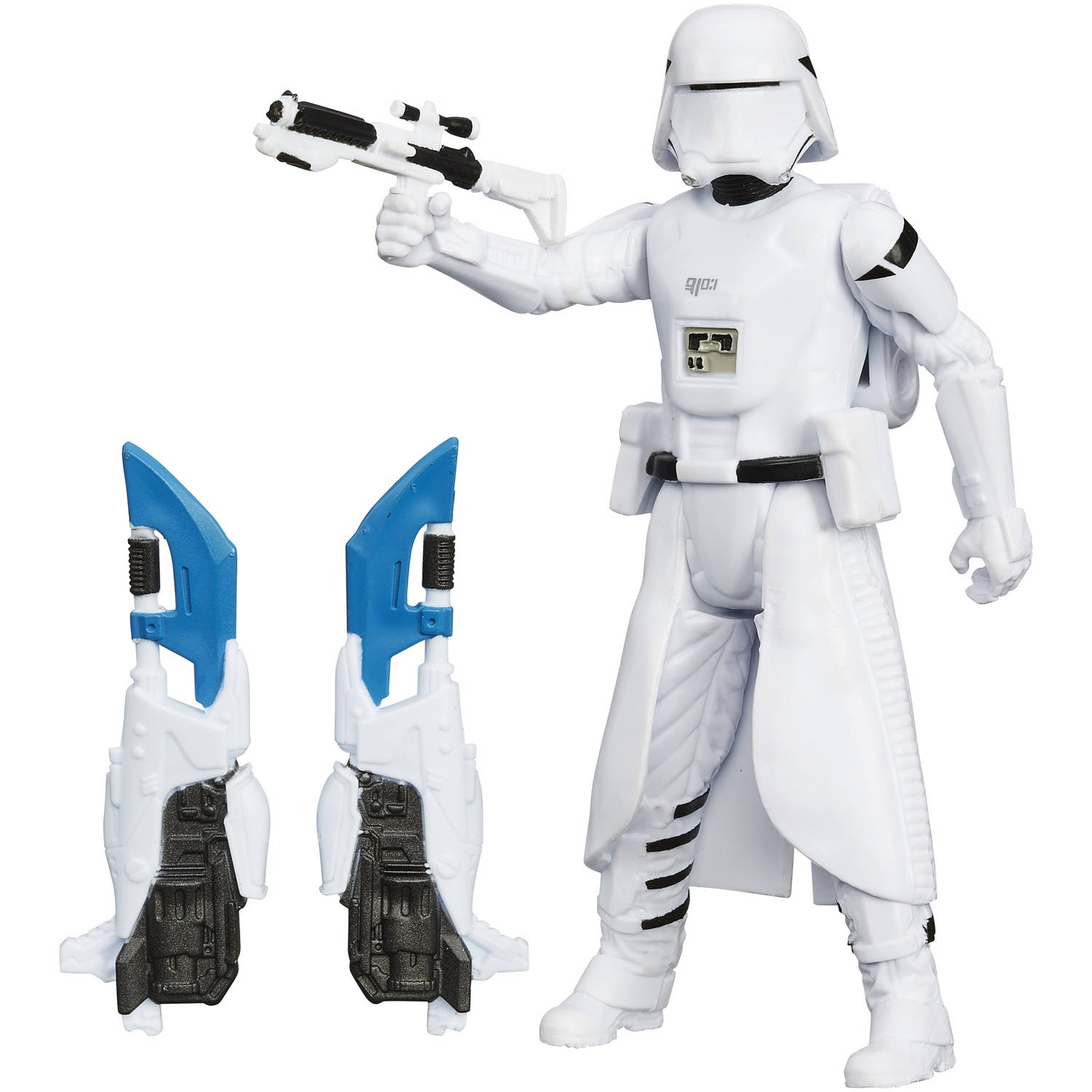 """Star Wars The Force Awakens 3.75"""" Snow Mission First Order Snowtrooper Figure"""