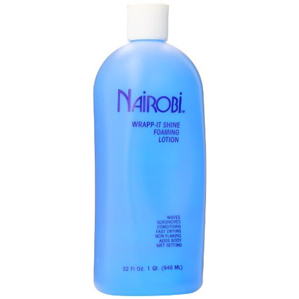 Nairobi Wrapp It Shine Foaming Lotion 32 Fl Oz 946 Ml Walmart Com Walmart Com