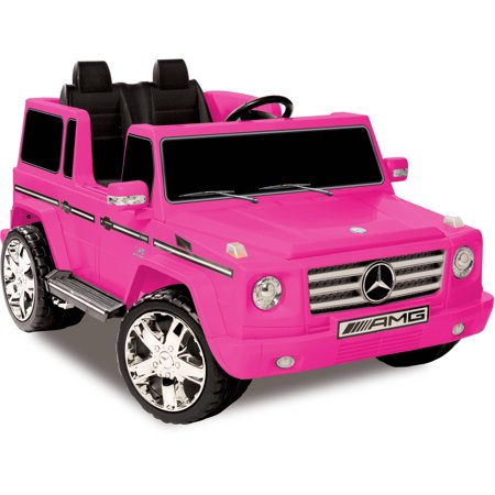 Kid Motorz 12V Mercedes Benz G55 AMG Two-Seater Ride-On,