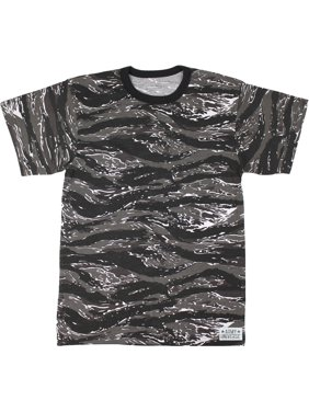 Product Image Woodland Camouflage Short Sleeve T-Shirt with ARMY UNIVERSE  Pin - Size X-Small cc6422554db