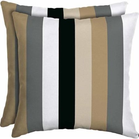 Mainstays Outdoor Patio 16 Quot Square Toss Pillow Set Of 2