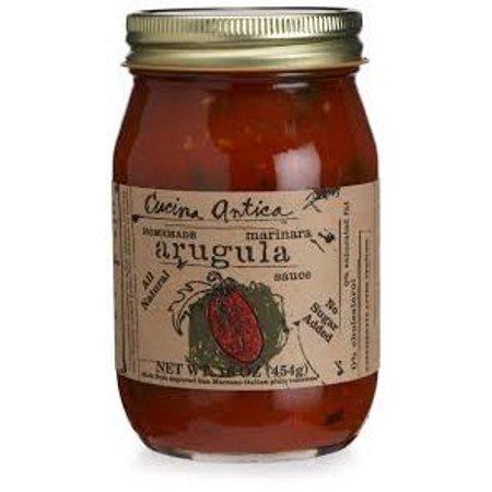 Cucina Antica Garlic Marinara - Cucina Antica Arugula Marinara Cooking Sauce - Case of 12 - 16 FL oz.