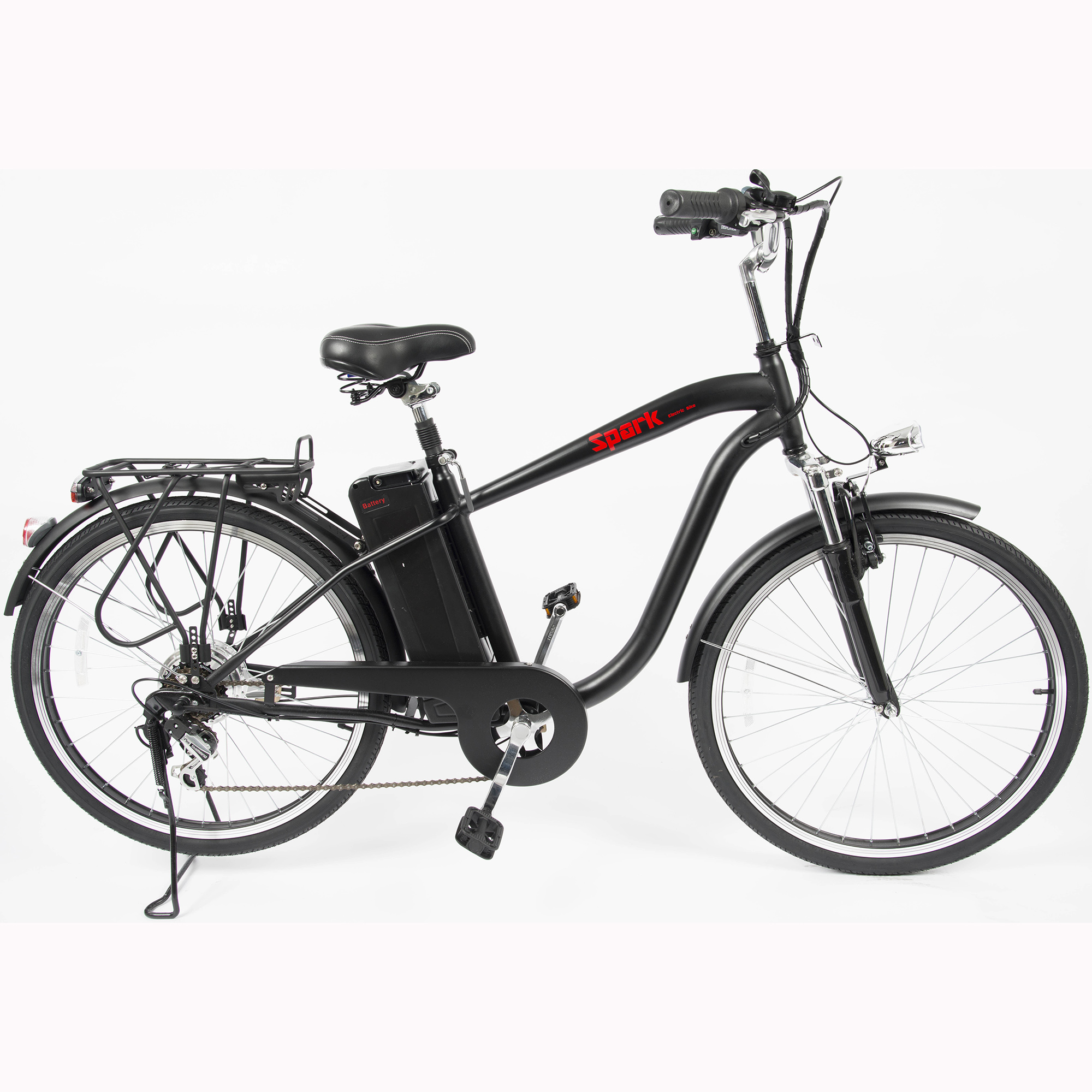 Black Spark eBike for Men