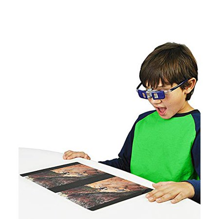 Play Visions Kids H2O 3D Glasses - Unique Toy, Just Add Water for an Instant 3D Experience - Works with Computer Screens, Laptops, Tablets, Flat Screen TV's, and
