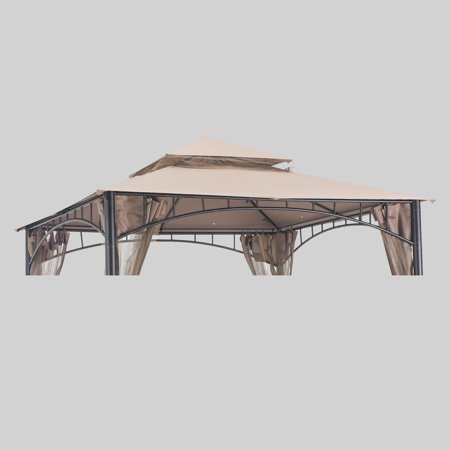 Sunjoy Replacement Canopy set (Deluxe) for L-GZ136PST-2 10X10 Home Madaga Gazebo