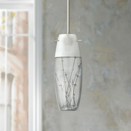 - Possini Euro Design Contemporary Etched Art Glass 4