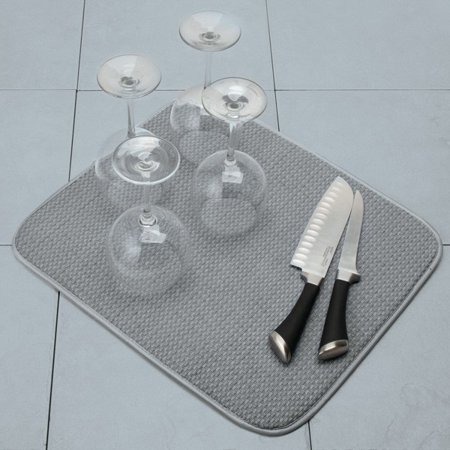Best Norpro Dish Drying Mat, Gray deal