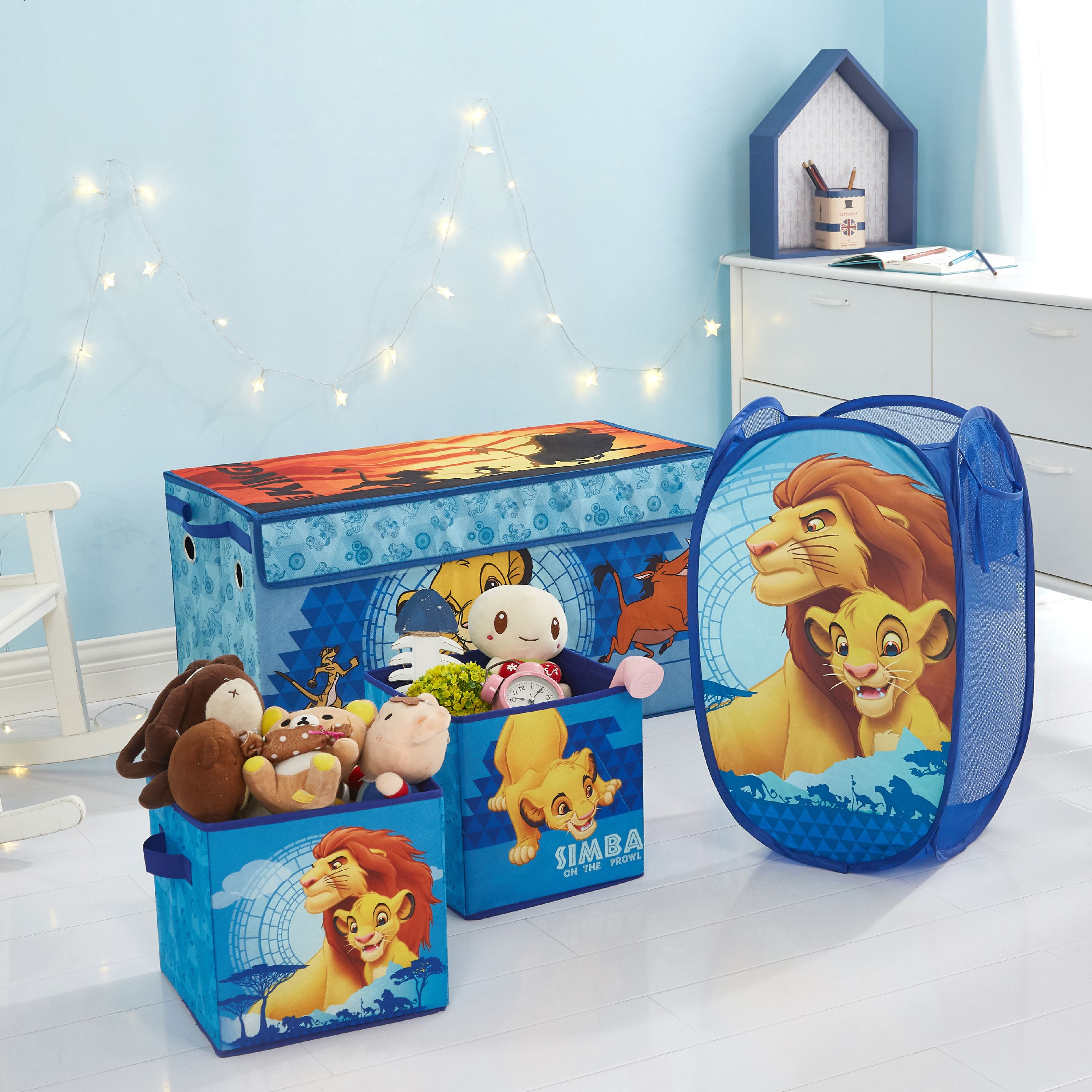 Lion King jewelry chest