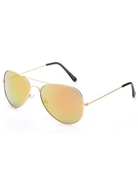 3ae346193 Product Image Newbee Fashion - 3 Pack Classic Aviator Sunglasses Flash Full  Mirror lenses Metal Frame for Men
