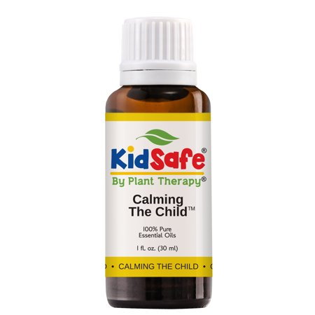 Plant Therapy Essential Oil | Calming the Child Synergy | Relaxing and Soothing Blend | 100% Pure, KidSafe | 30 mL