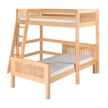 Camaflexi Twin L Shape Bunk Bed Walmart Com