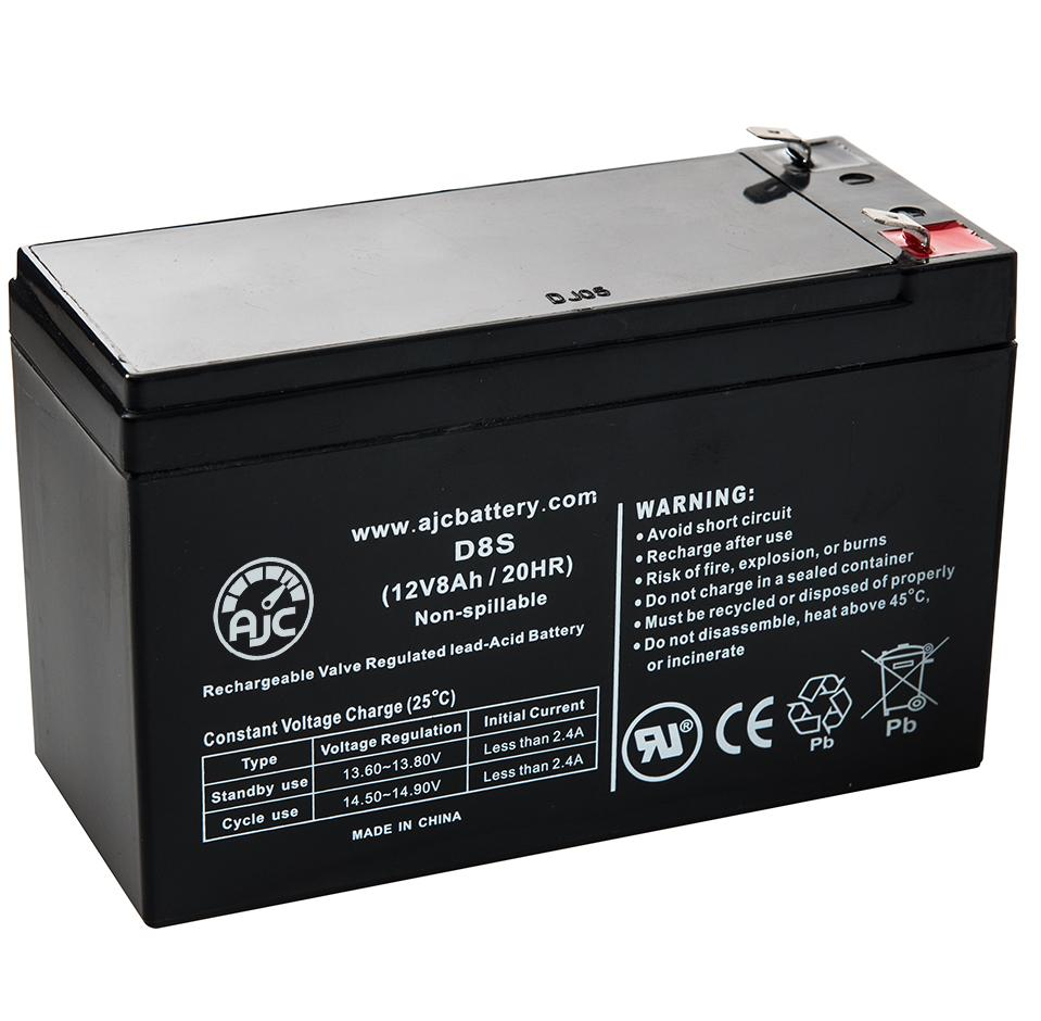 This is an AJC Brand Replacement Haze HZS12-18 12V 18Ah Sealed Lead Acid Battery