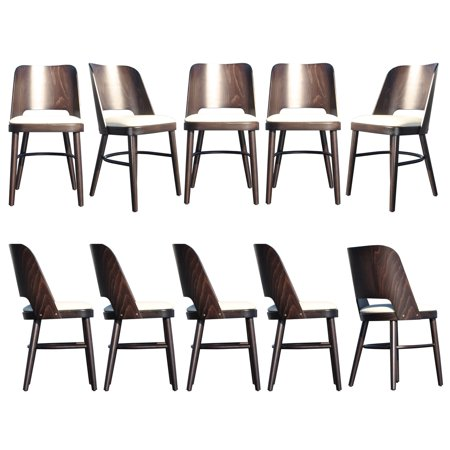 Victoria Upholstered Restaurant Chairs (Set of 10)