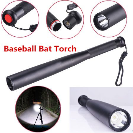 CVLIFE 31cm 6000LM 3 Mode LED Long Baseball Bat Flashlight Torch Security Waterproof - Batman Flashlight Bat Signal