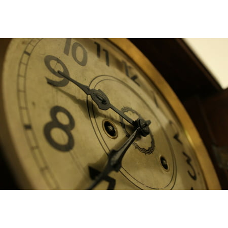 Canvas Print Watch Time Mechanic Old Pointers Stretched Canvas 10 x 14 (Old Times Pinter)