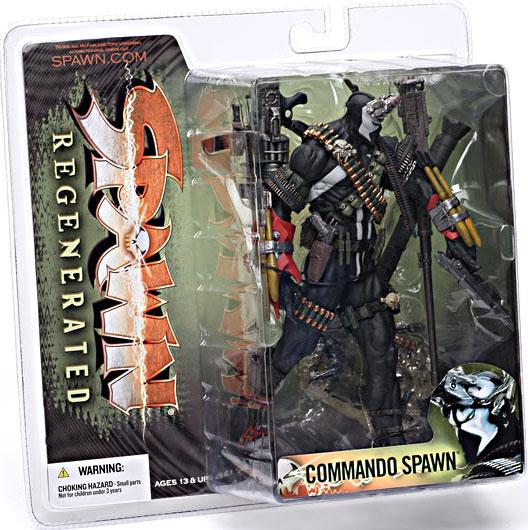 McFarlane Series 28 Regenerated Commando Spawn Action Figure by