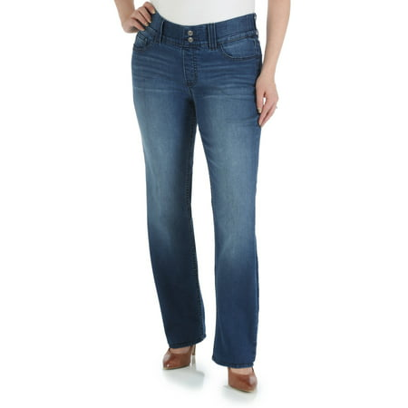 Women's Waist Smoother Straight Leg Jean ()