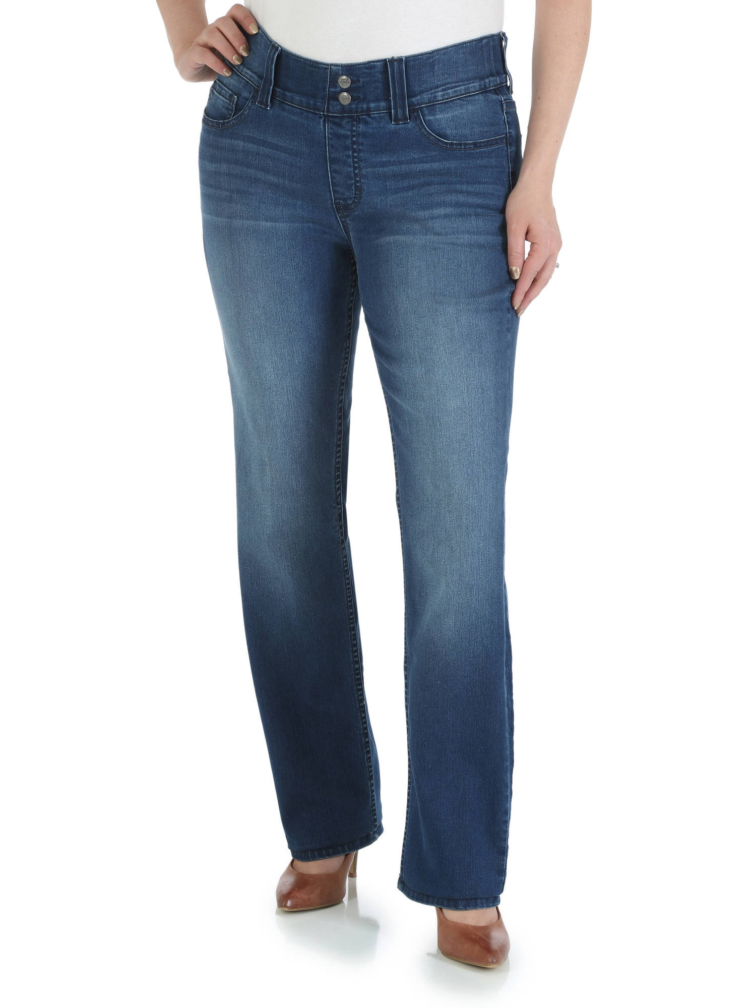 Women's Waist Smoother Straight Leg Jean