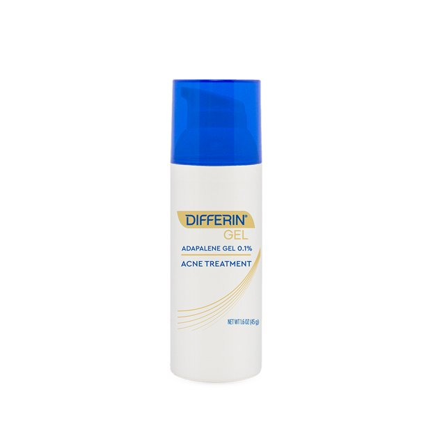 Differin 0 1 Adapalene Acne Treatment Gel Pump 1 6 Oz 45g