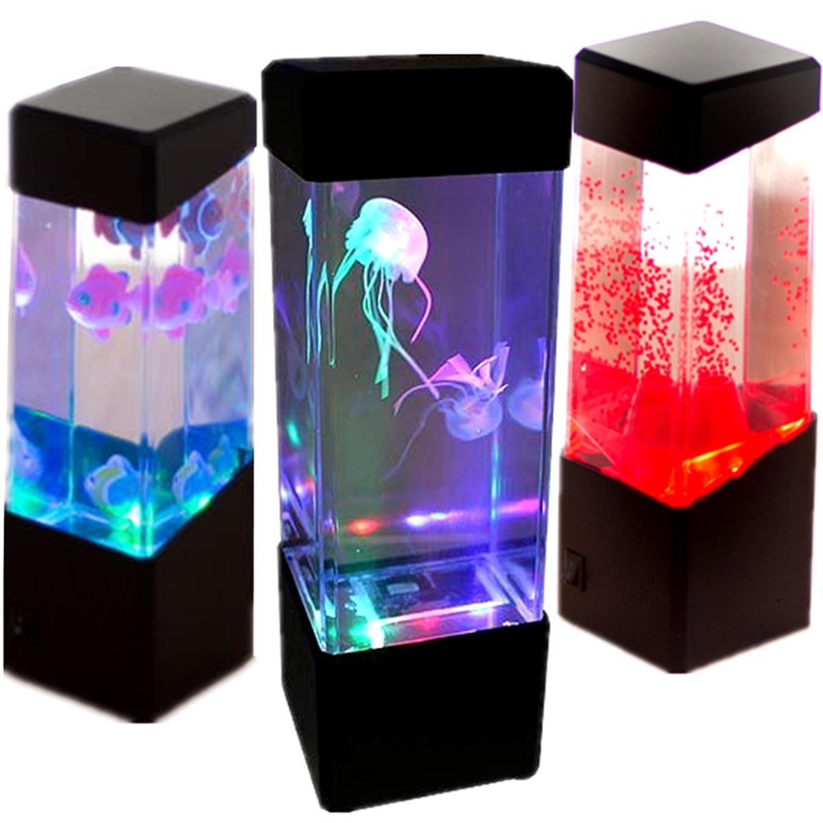 Led Aquarium Lights Mini Colorful Fish Tank Led Light Jellyfish