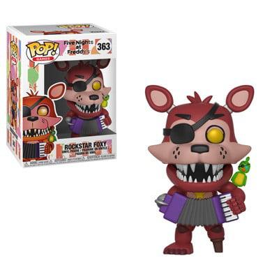 Funko Pop! Games: Five Nights at Freddy's 6 Pizza Sim - Rockstar Foxy (Five Freddy's At Night)