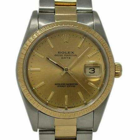 Pre-Owned Rolex Date 15233 Steel Women Watch (Certified Authentic & Warranty)