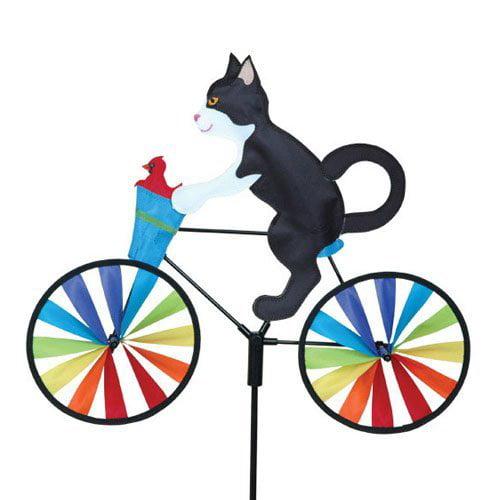 20 In. Bike Spinner - Tux Cat
