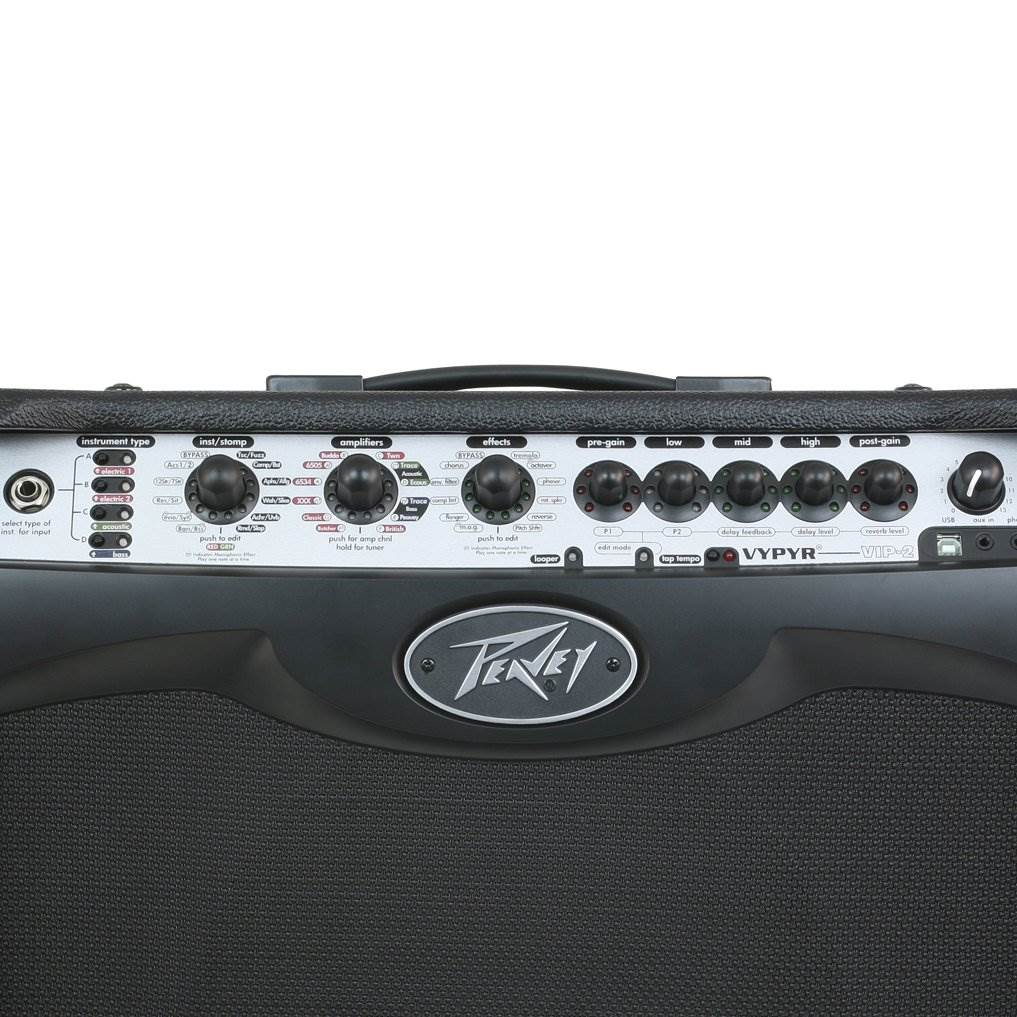 "Peavey Vypyr VIP 3 Modeling Instrument Guitar//Bass 100 Watt 12/"" Amplifier Amp"