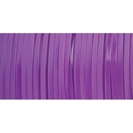 Pepperell Rexlace Plastic Lace, 0.0938-Inch, Neon Purple - Plastic Lacing