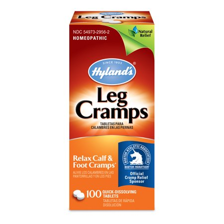Hylands Leg Cramp Tablets  Natural Relief Of Calf  Leg And Foot Cramp  100 Count