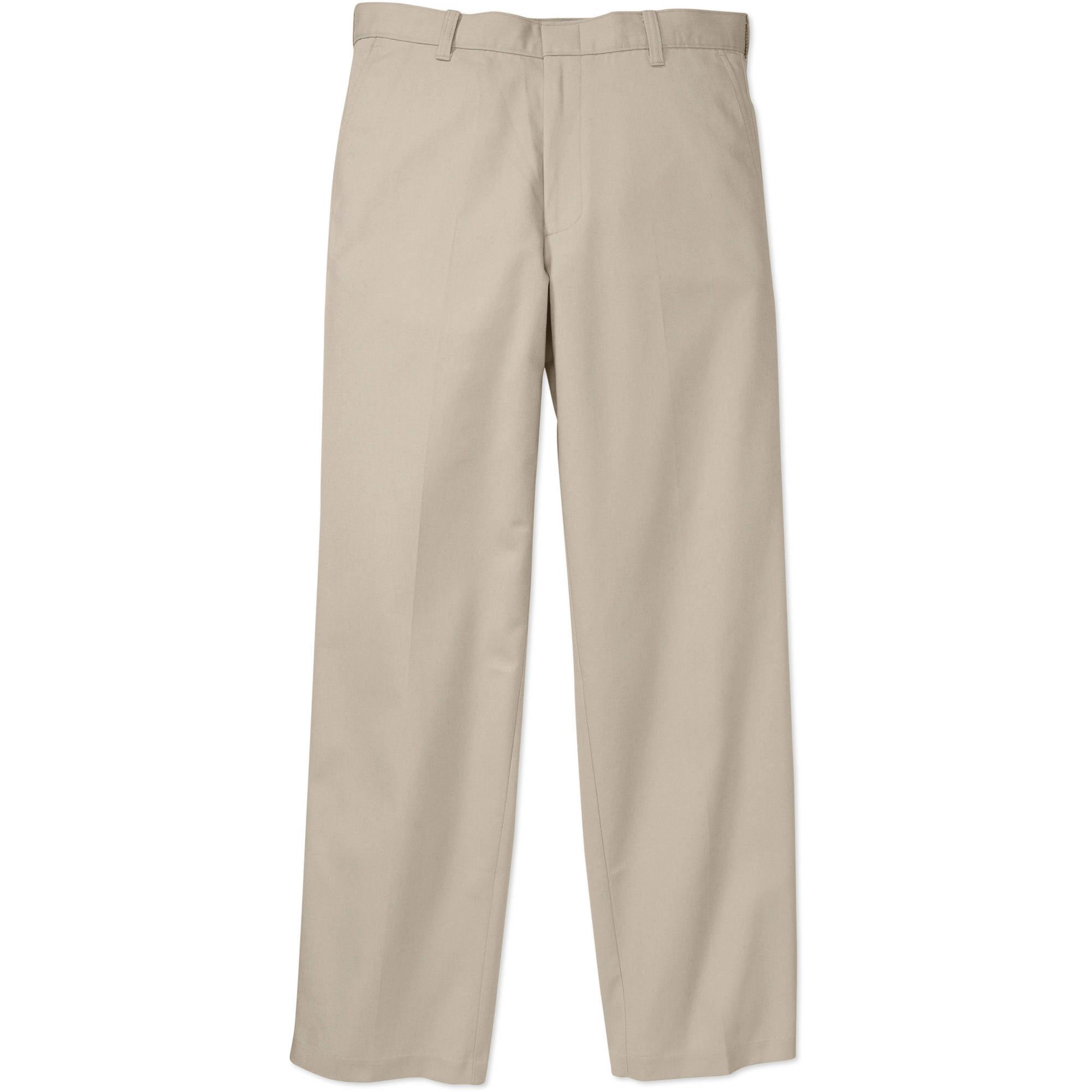 George Big Men's Flat Front Pant