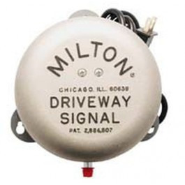 Milton 805 Self Contained Driveway Signal Bell