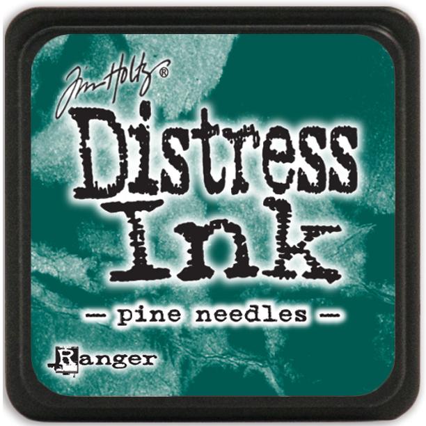 Tim Holtz Distress Mini Ink Pads-Pine Needles DMINI-40095