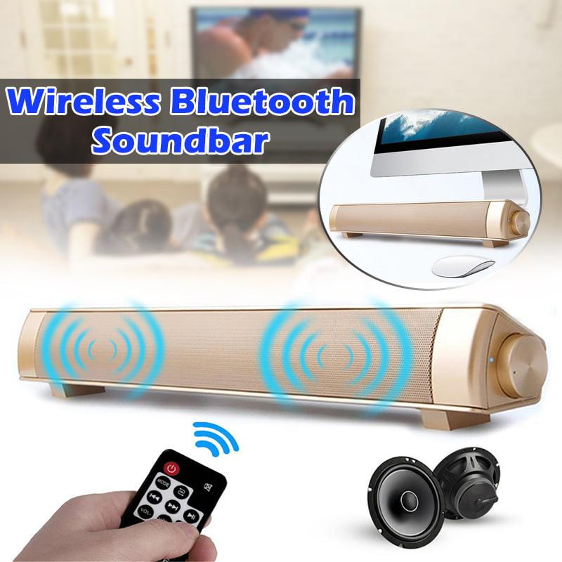Wireless Bluetooth Stereo 3 Colors Subwoofer Stereo Speaker Design TV ABS Indoor,Outdoor, Phones, Laptops, Tablets Loudspeaker