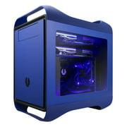 Bitfenix Prodigy M Window Bfc-prm-300-bbwkk-rp No Power Supply Microatx Case [blue]