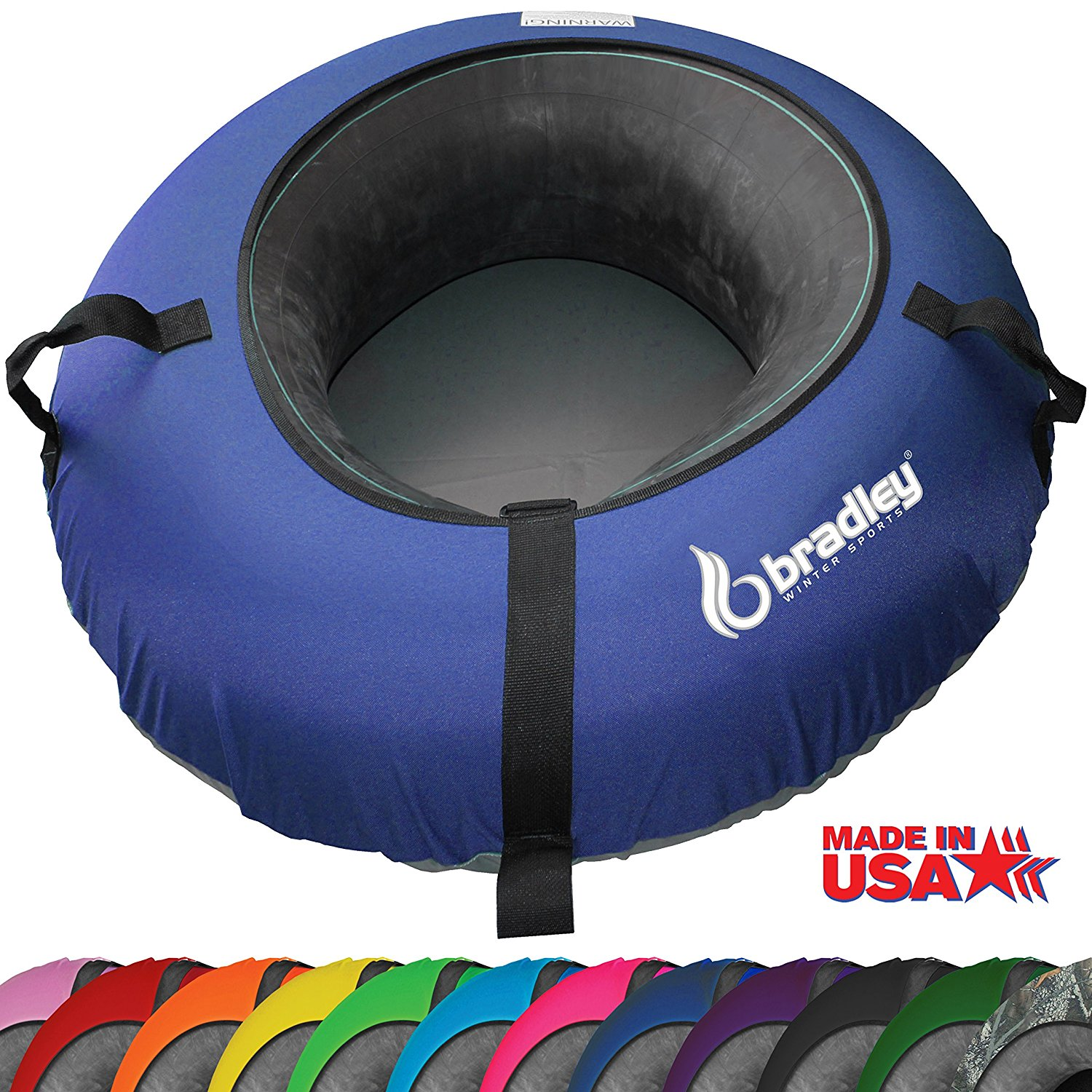 "Bradley Snow Tube Sled with 48"" Cover by Bradley"