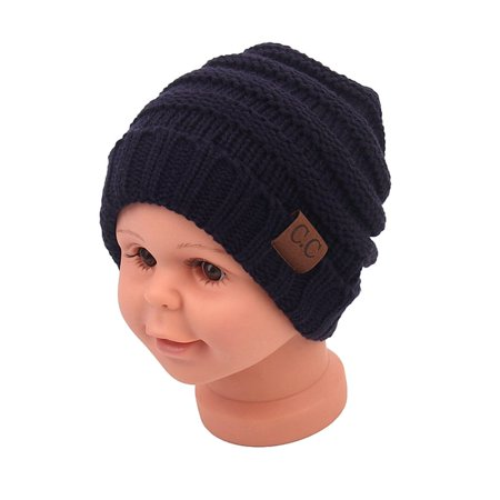 Solid Color Kids Monochrome Single Layer Cotton Hat Children's Hat Kids Hat - image 1 de 7