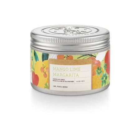 Tried and True Mango Lime Margarita Candle Tin 4 Ounce (Mango Margarita Recipe)
