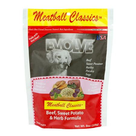 Evolve Meatball Classics Beef, Sweet Potato & Herb Formula, 8.0 OZ