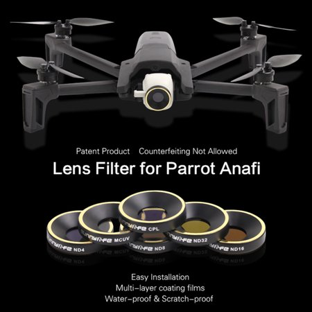 Sunnylife ND16 Filter Lens for Parrot ANAFI 4K RC FPV Drone Quadcopter