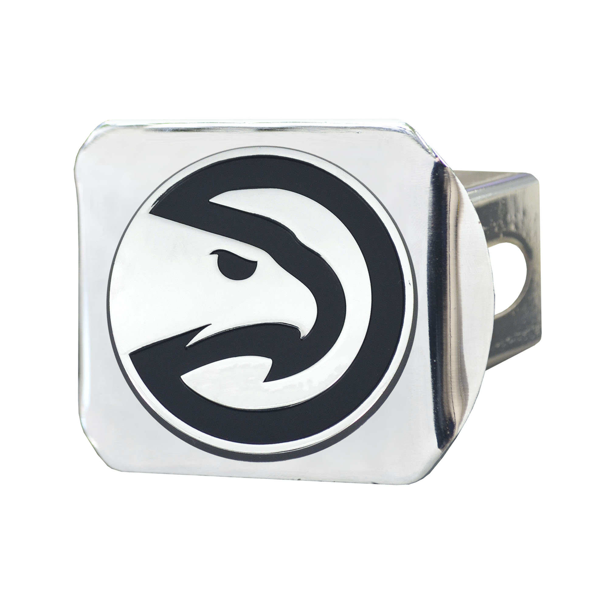NBA Atlanta Hawks Chrome Hitch Cover Automotive Accessory