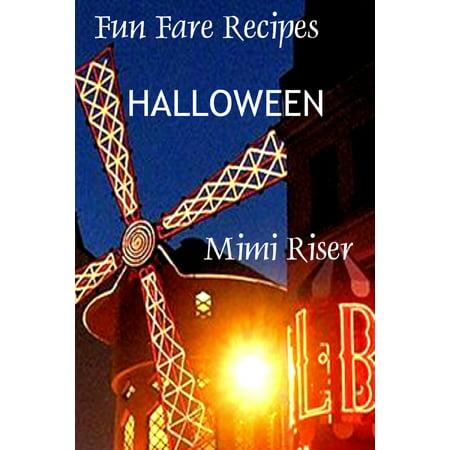 Fun Fare Recipes: Halloween - eBook - M&m Halloween Recipes