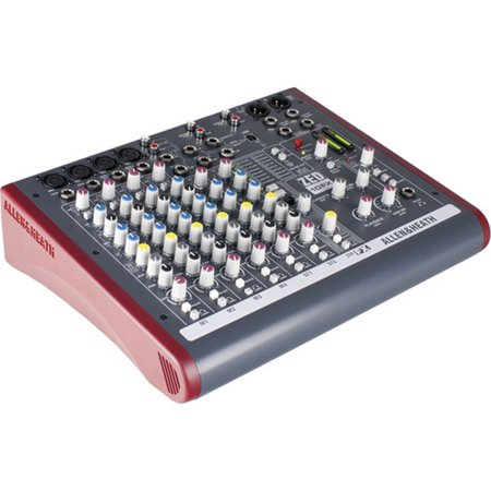 Allen & Heath ZED 10FX 10 Channel USB Mixer w/Effects