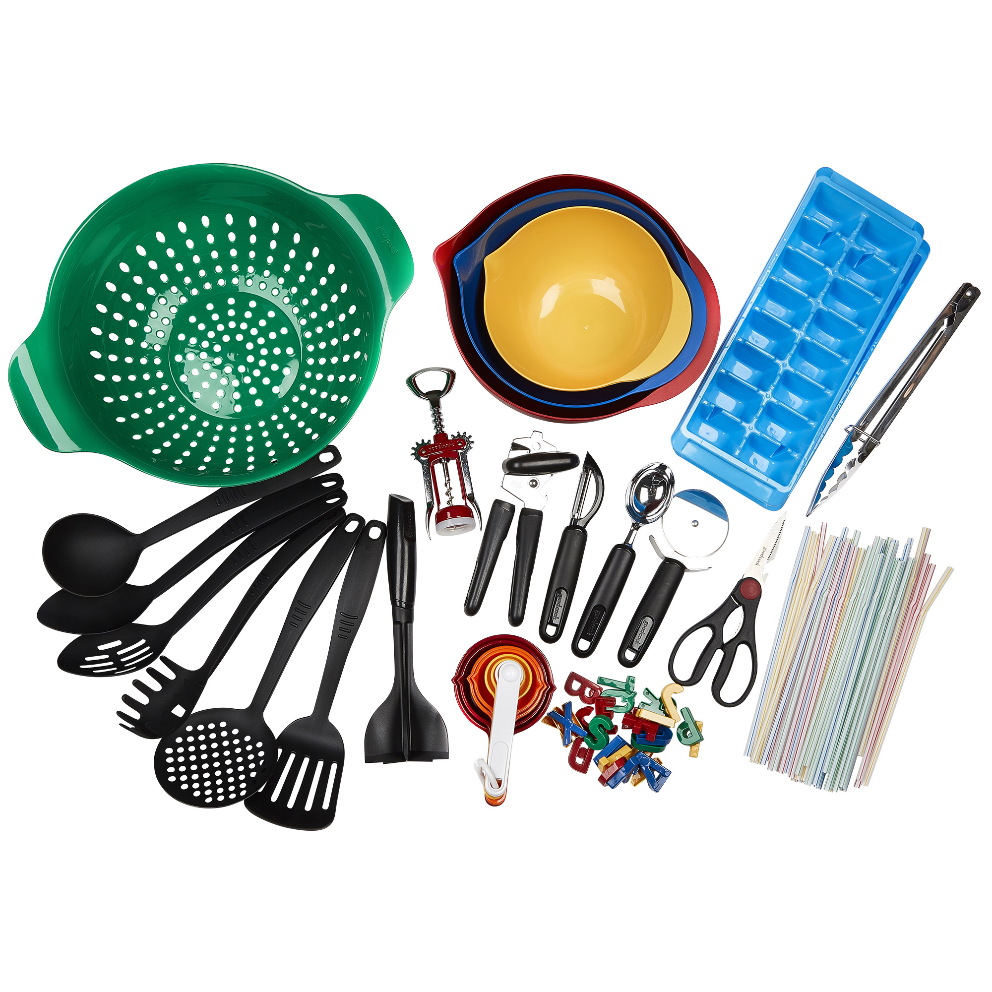 GoodCook Silver Tools and Gadget Set, 31-Piece