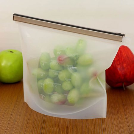 1pcs Silicone Food Saran Wrap Silicone Bags Container Home Storage  Organization Bulk Lots Accessories Supplies Products MZ