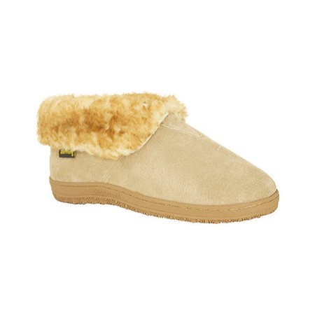Old Friend Footwear Men's Sheepskin Bootee Slippers Medium Sizes 421121