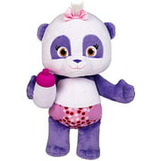 """Snap Toys Word Party - Lulu 10"""" Stuffed Plush Snuggle and Play Baby Panda With Bottle - from the Netflix Original Series - 18+ Months"""
