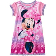 Minnie Mouse Toddler Girl Short Sleeved Graphic Nightgown