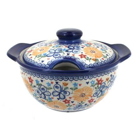Polish Pottery Soup Tureen (Polish Pottery Butterfly Soup)