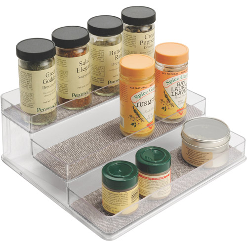 InterDesign Twillo Multi-Level Spice Rack Organizer